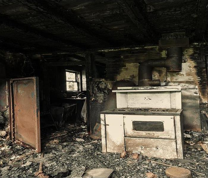 Charred Kitchen