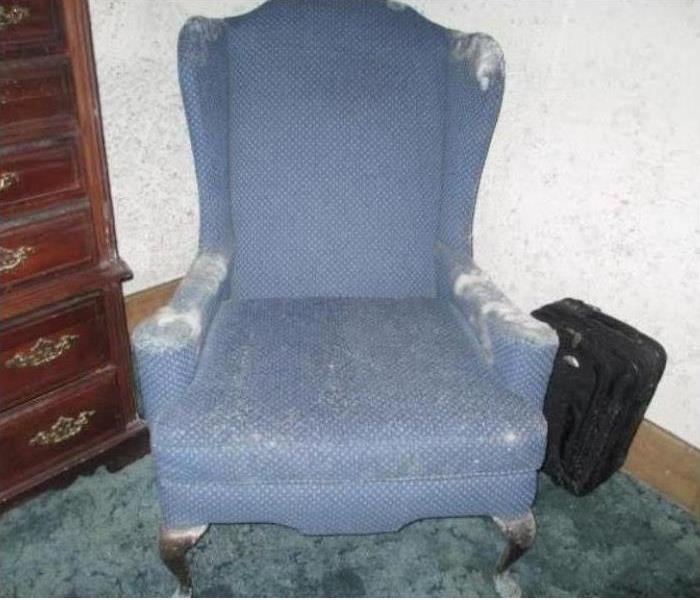 Moldy Chair in Affected Home
